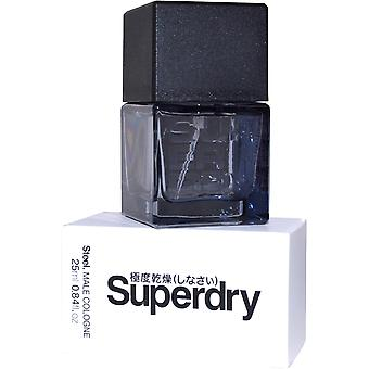 Superdry Steel Male Cologne Spray Men 25ml
