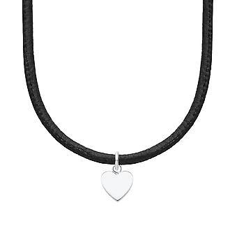 s.Oliver Jewel Kids and teens chain steel leather heart 2026053 s.Oliver Jewel Kids and teens chain stainless steel cœur 2026053