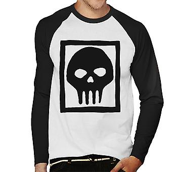 The Phantom Skull Ring Logo Men's Baseball Long Sleeved T-Shirt
