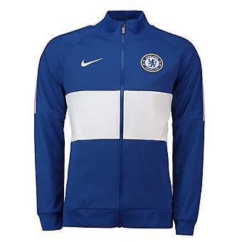 2019-2020 Chelsea Nike I96 Jacket (Blue)