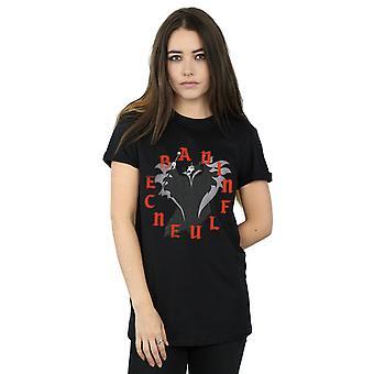 Disney Women's Maleficent Bad Influence Boyfriend Fit T-Shirt