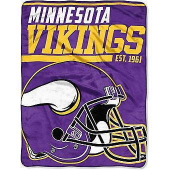 Northwest NFL Minnesota Vikingen micro pluche deken 150x115cm