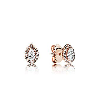 Pandora Gold-plated Women's Stud Earrings - 286252CZ