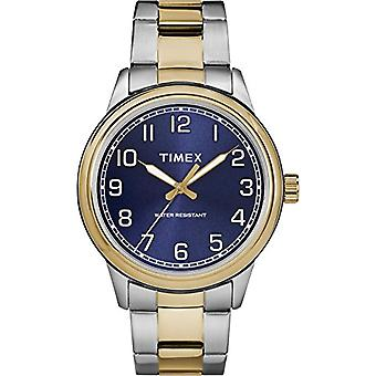 TW2R36600-Timex men's watch with quartz movement, classic analogue dial and stainless steel band