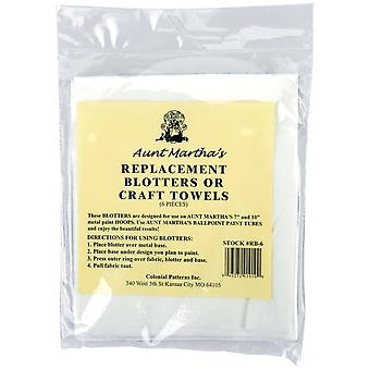 Aunt Martha's Replacement Blotters 6 Pkg Rb6