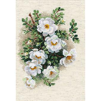 White Briar Counted Cross Stitch Kit-8.25