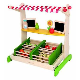 EverEarth For Frutería Wood table (Toys , Home And Professions , Professions)