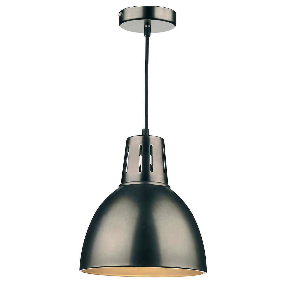 Dar OSA8661 Osaka Large Non Electric Pendant In Antique Chrome