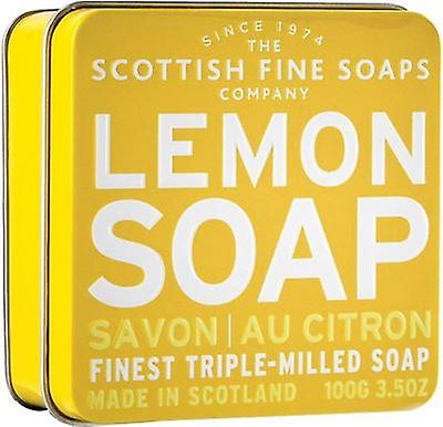 Scottish Fine Soaps Lemon Soap Tin