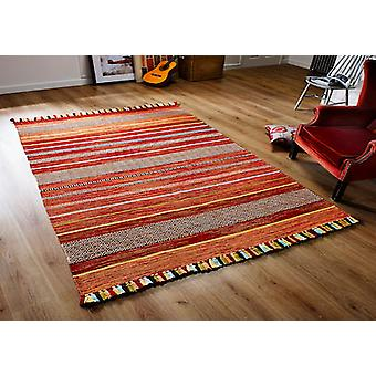 Kelim STRIPES RED  Runner Rugs Modern Rugs