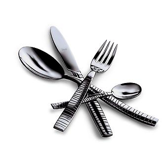 Mepra Tigre Oro Nero 24 pcs flatware set