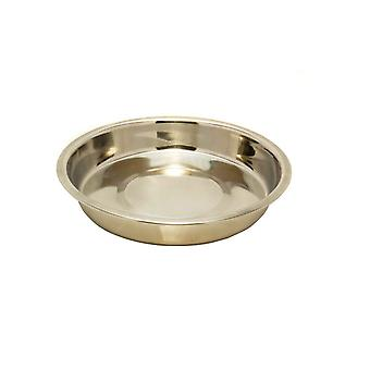 Stainless Steel Shallow Puppy Pan 10