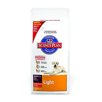 Hill's Science Plan Canine Light Adult Large Breed Chicken 12kg