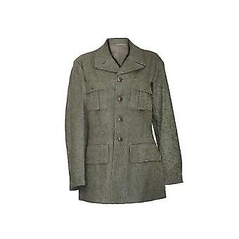 Original Vintage Swedish Military Wool Jacket