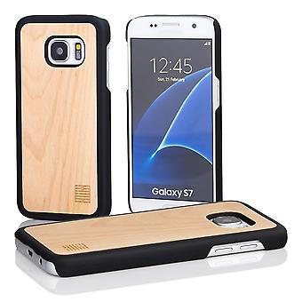 32nd Wooden Back case for Samsung Galaxy S7 (SM-G930) - Maple