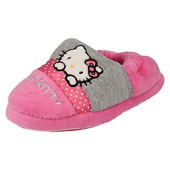 Girls Hello Kitty Full Slippers Persian