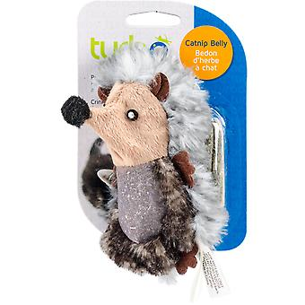 Turbo Catnip Belly Critters Cat Toy-Hedgehog - 6.5