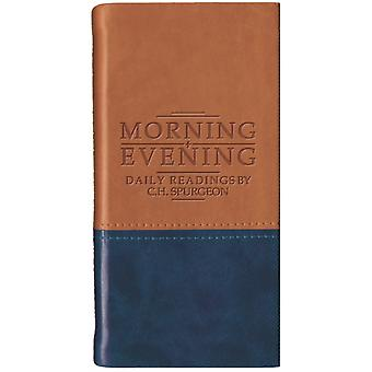 Morning and Evening - Matt Tan/Blue (Daily Readings) (Imitation Leather) by Spurgeon C.H.