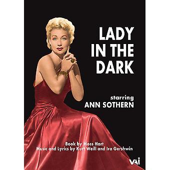 Damen i mörkret - 1954 TV-produktion [DVD] USA import