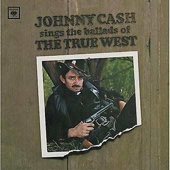 Johnny Cash - singt Balladen von True West [CD] USA import