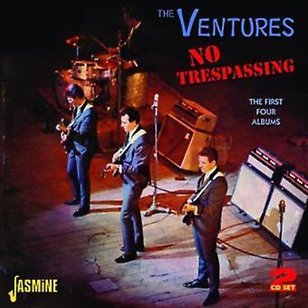 Ventures - keine Trespassing: Ersten vier Alben [CD] USA import