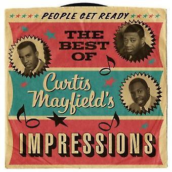 Curtis Mayfield & Impressionen - People Get Ready: das beste von Curtis Mayfield Im [CD] USA Import