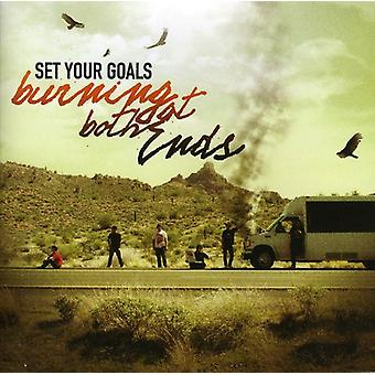 Set Your Goals - Burning at Both Ends [CD] USA import