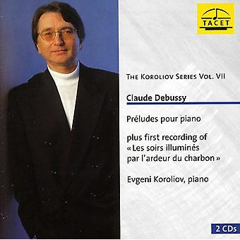C. Debussy - Claude Debussy: Præludier Pour Piano [CD] USA import