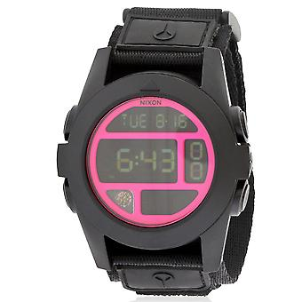 Nixon Baja digitale Zwart polycarbonaat Mens Watch A489480