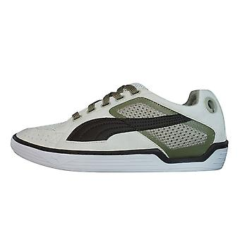 Puma Kite Mens Trainers / Shoes - White & Green