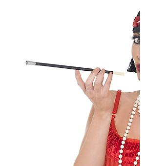 20s style cigarette holder black