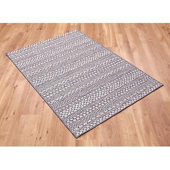 Brighton 98570 3036 96 graue Rechteck Teppiche Plain/fast nur Teppiche