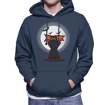 Monster Of The Night Gremlins Dracula Men's Hooded Sweatshirt