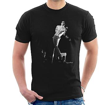 Iggy Pop Manchester Apollo 1977 Men's T-Shirt