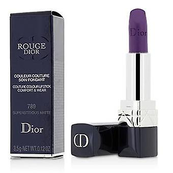 Christian Dior Rouge Dior Couture Colour Comfort & Wear Matte Lipstick - # 789 Superstitious Matte - 3.5g/0.12oz
