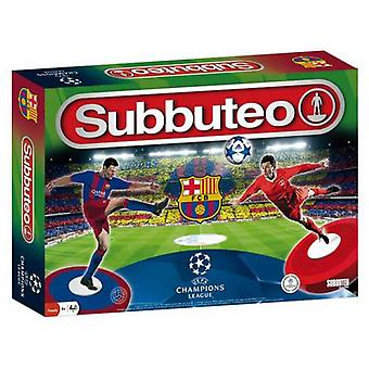 Subbuteo Fc Barcelona 3rd Edition Playset (Toys , Boardgames , Skills)