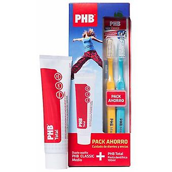 PHB Total Toothpaste + Brush Middle Duplo