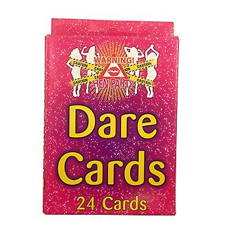 Hen Night Dare Cards - Pack of 24 Outrageous Dare Cards for your Hen Party