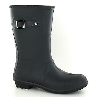 Spot On Womens/Ladies Low Calf Buckle Strap Wellies