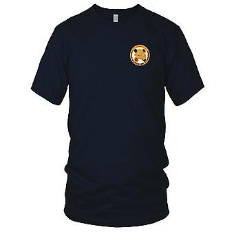 US Army - 104th Cavalry Regiment Embroidered Patch - Ladies T Shirt