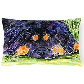 Carolines Treasures  SS8519PW1216 Tibetan Mastiff Decorative   Canvas Fabric Pil