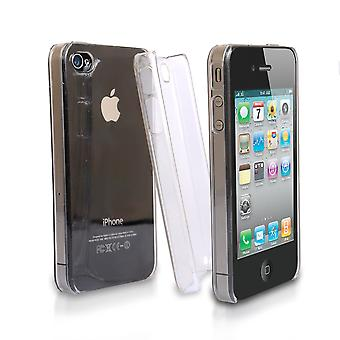 Yousave accessoires Iphone 4 en 4s Hardcase van Crystal - Clear