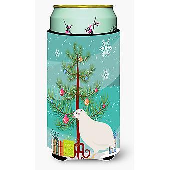Texas Quail Christmas Tall Boy Beverage Insulator Hugger