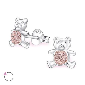Bear crystal from Swarovski® - 925 Sterling Silver Children's Jewellery