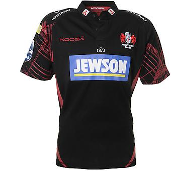 KOOGA gloucester away manches courtes junior rugby shirt