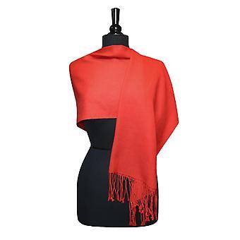 Biagio 100 % Wolle Solid Pashmina Schal Damen Schal wickeln Scarve