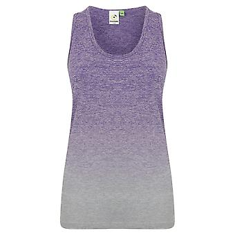 Tombo Womens/Ladies Seamless Fade Out Sleeveless Vest