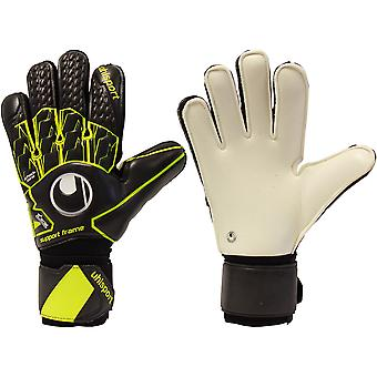UHLSPORT SUPERSOFT SUPPORTFRAME Goalkeeper Gloves Size