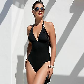 Ajourage Couture black swimsuit