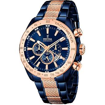 Festina mens watch sports prestige chronograph F16886/1
